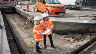 Fors medarbejdere i udgravning